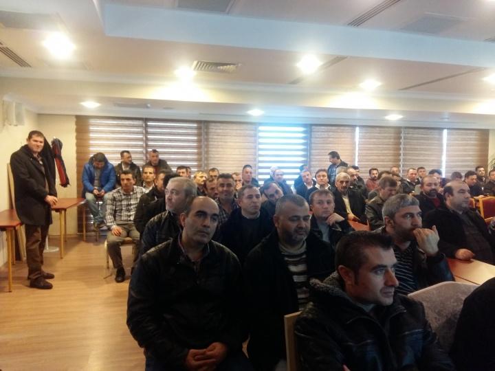 DARPHANE VE DAMGA MATBAASI ÜYE TOPLANTISI GERÇEKLEŞTİRİLDİ...