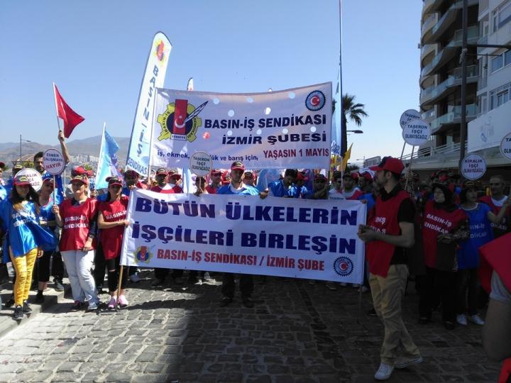 2016 1 Mayıs İzmir - Gündoğdu Meydanı