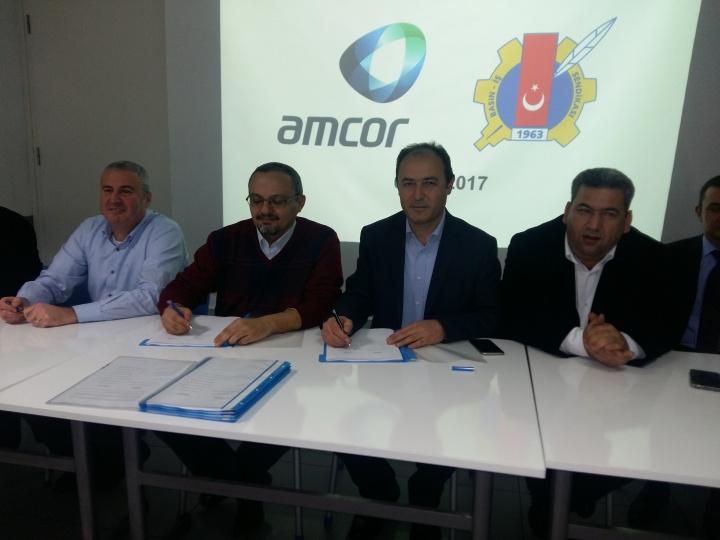 Amcor Tobacco İzmir Toplu Sözleşme Sürecinde Mutlu Son!