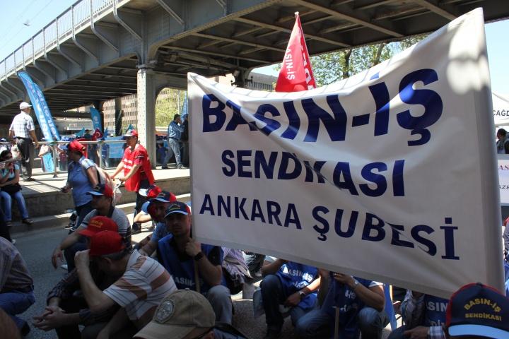 2012  / 1 Mayıs Ankara Sıhhiye Meydanı
