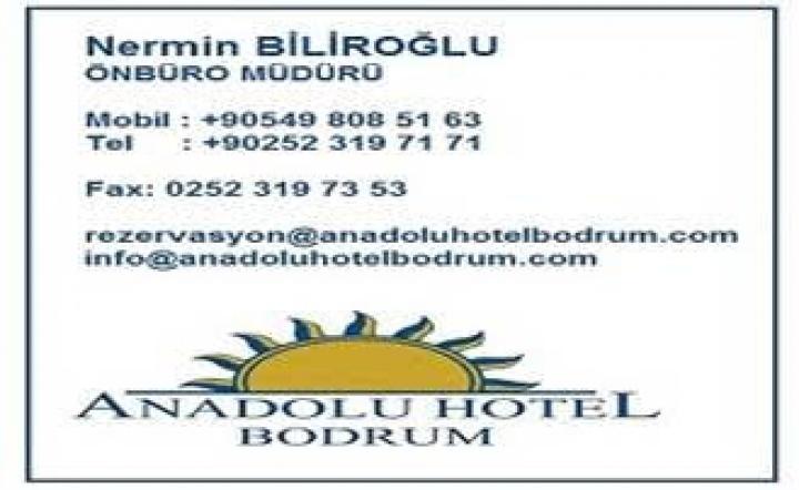 Anadolu Hotel Bodrum'un Basın-İş Sendikası'na Özel Fiyatları