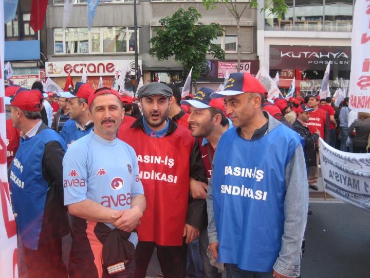2012  / 1 Mayıs İstanbul Taksim Meydanı