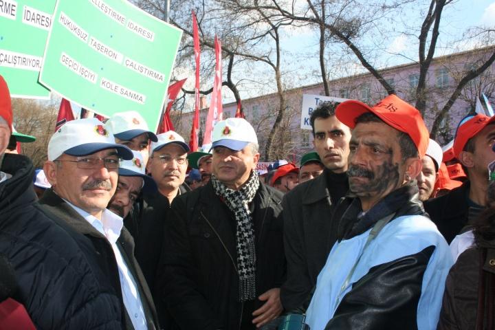 2014 Ocak / Ankara / Yatağan Özelleştirme Protesto Eylemi