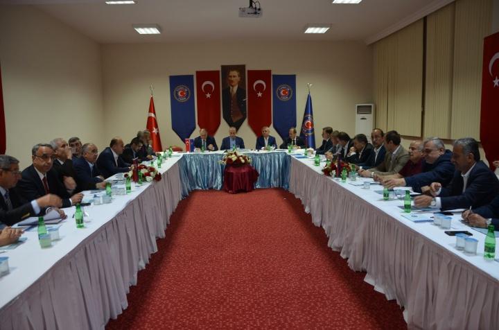 TÜRK-İŞ BAŞKANLAR KURULU SAMSUN'DA TOPLANDI...