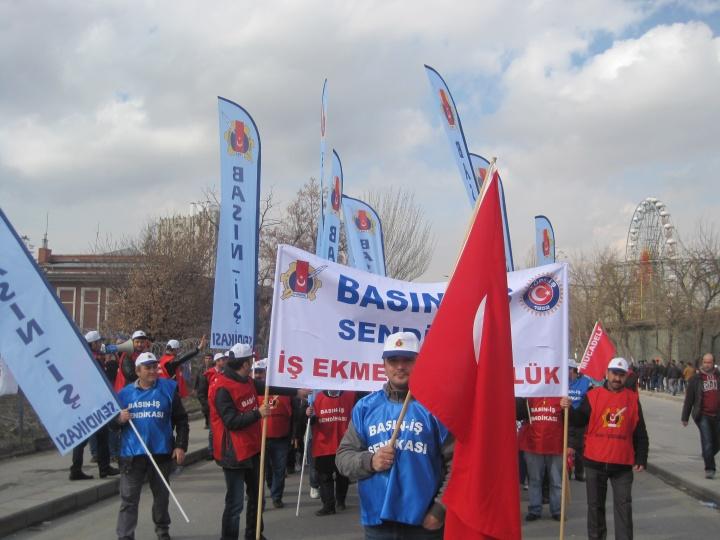 2014 Şubat / Kölelik Düzenine Son Mitingi / Ankara Sıhhiye Meydanı