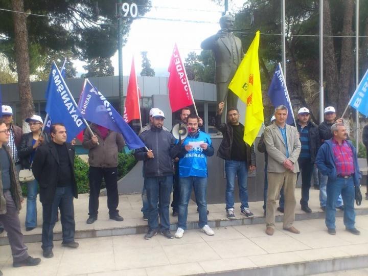 MMG İşçileri: Biz Köle Değiliz!