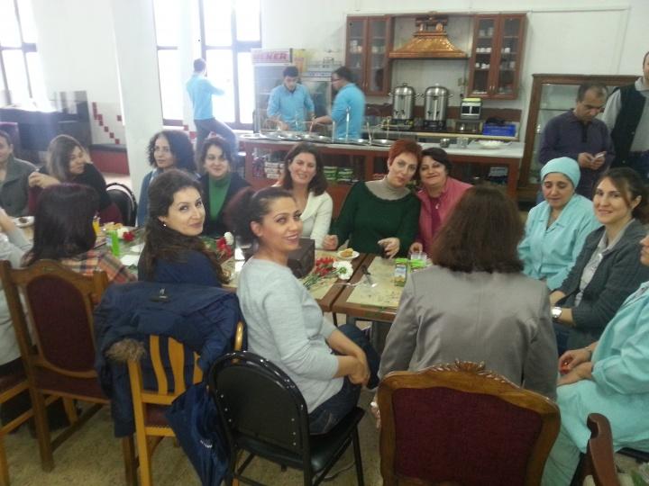 İstanbul İşyerlerimizde 8 Mart Kadınlar Günü Kutlaması