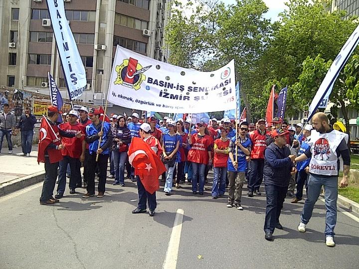 2014 1 Mayıs Izmir Gundogdu Mitingi
