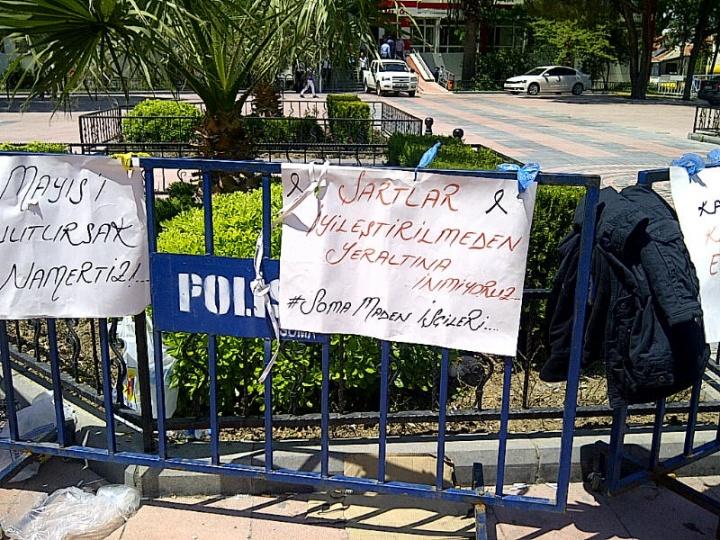 GENEL SEKRETERİMİZ SOMA'DA ...