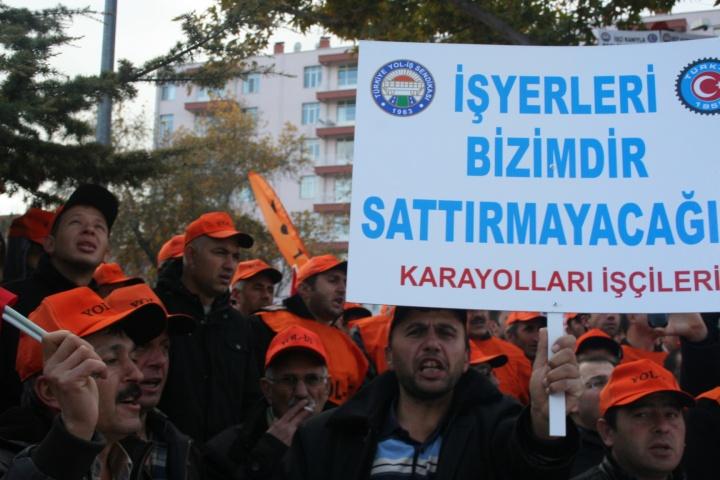 KARAYOLLARI TAŞERON İŞÇİLERİ YALNIZ DEĞİLDİR ...