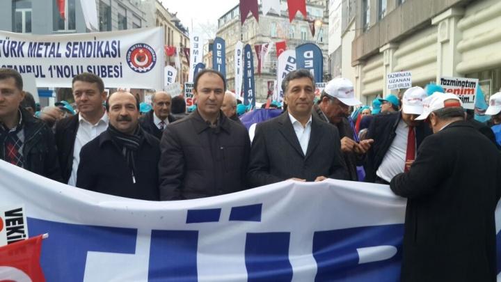 'KIDEM TAZMİNATIMA DOKUNMA!'